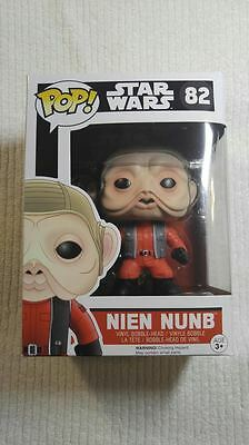 Star Wars: Episode 7 The Force Awakens Nien Nunb Pop! Vinyl Bobble Head 82