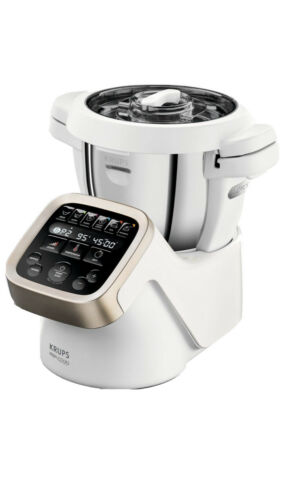 Krups Küchenmaschine HP5031.HSE Prep&Cook,Gemüseschneider XF551D, 1550 W, 4,5l