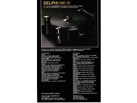 TURNTABLE BELT FOR ORACLE DELPHI MK III USA FREE SHIPPING  D2