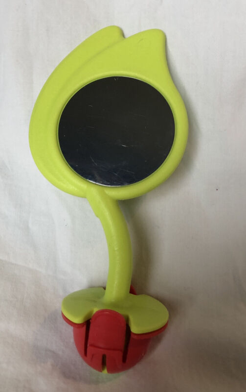 Evenflo Exersaucer Replacement Toy Part Jungle Quest Leaf Mirror