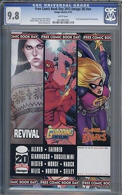 Free Comic Book Day 2012  1  Image 20   1St Appearance Of Revival  Cgc 9 8