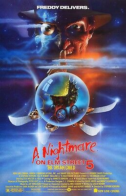 A Nightmare On Elm Street movie poster 11 x 17 inches - Part 5 The Dream Child