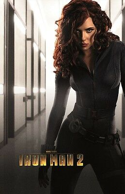 Iron Man 2 movie poster : Scarlett Johansson poster 11 x 17 inches : Black Widow