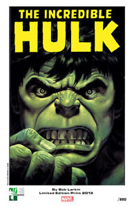 BOB-LARKIN-signed-Hulk-print-limited-to-250