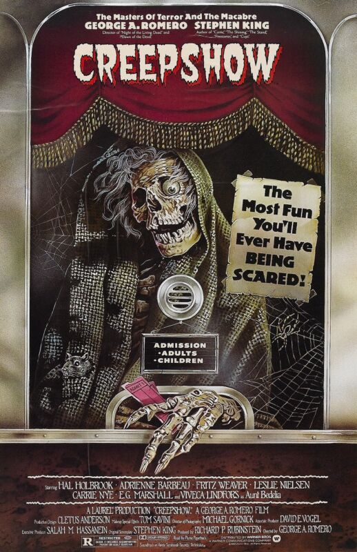 Creepshow movie poster : 11 x 17 inches George A. Romero, Horror