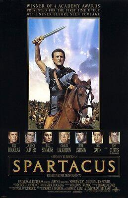 Spartacus Poster Film (C) Kirk Douglas, Stanley Kubrick - 27.9x43.2cm