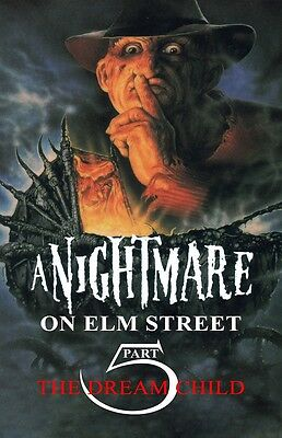 A Nightmare On Elm Street poster (a) 11 x 17 inches  - Part 5 The Dream