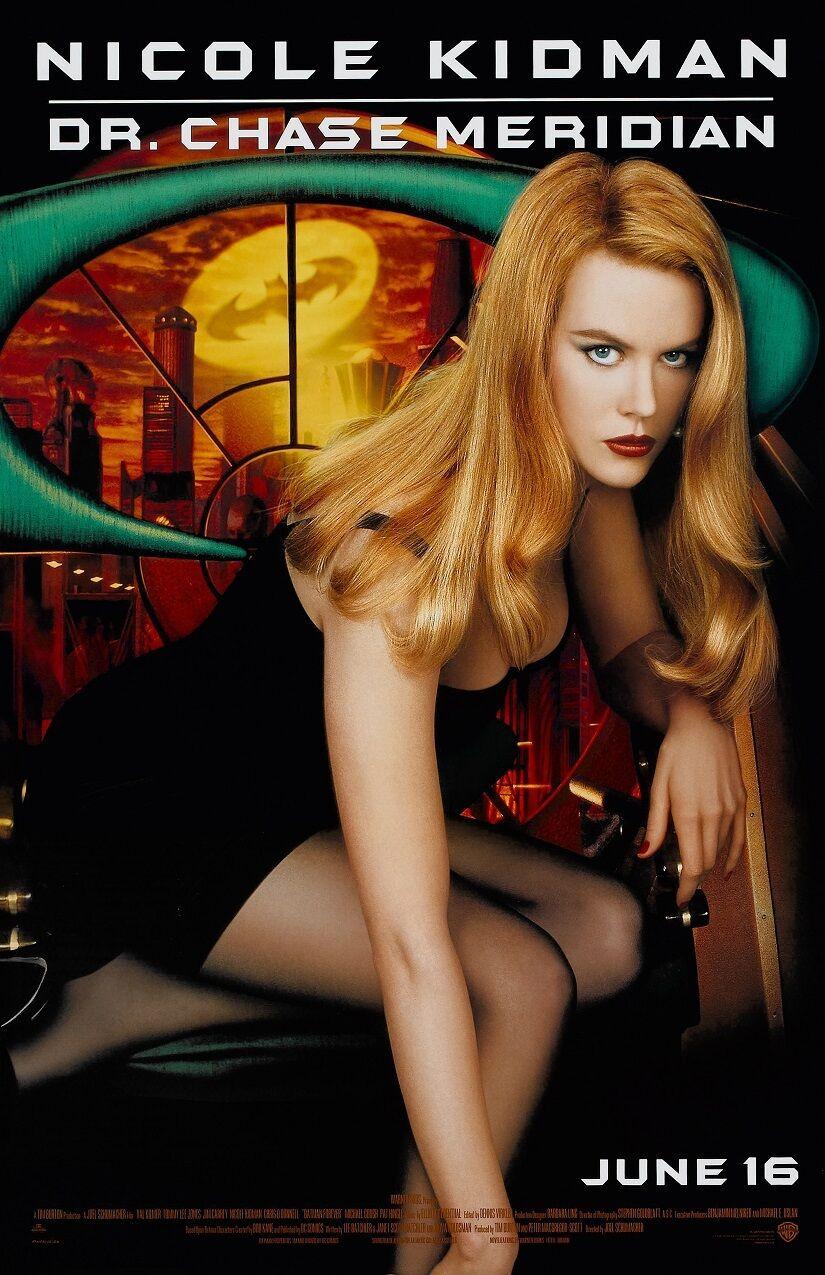 "Batman poster - Batman Forever movie poster - Nicole Kidman  - 11"" x 17"""