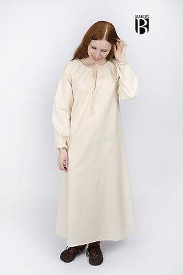 Mittelalter Unterkleid Annecke Kleid Gewand / LARP - - Mittelalter Kleid Weiss