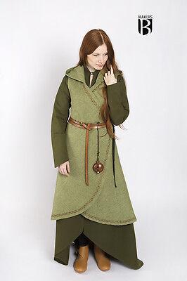 Mittelalter Wickelkleid Dala Kleid Elf / LARP - Lindgrün von Burgschneider - Schneide Kostüm