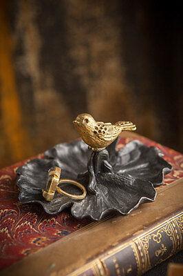 (Bird Jewelry & Coin Tray)