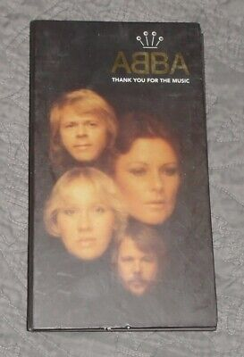 Thank You for the Music [Box] [Box] by ABBA (CD, Apr-1995, 4 Discs, Polydor)