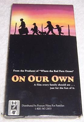 On Our Own VHS Video Feature Films for Families , usado segunda mano  Embacar hacia Argentina