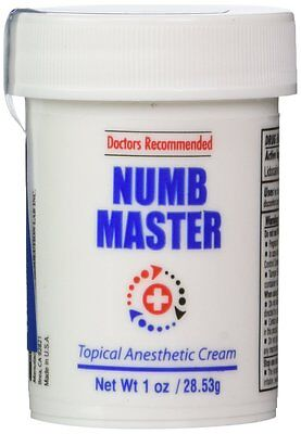 1 Oz  Numb Master 5  Lidocaine  Fast Penetration  Water Base  Made In Usa