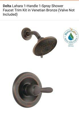Delta Lahara Monitor 14 Series Shower Trim T14238-RB Venetian Bronze Lahara Monitor 14 Series Shower