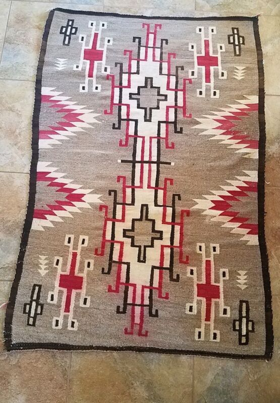 Navajo Rug Storm Pattern