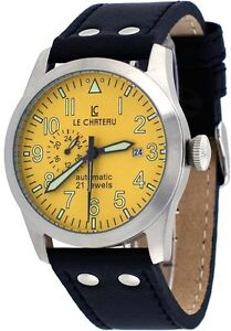 Le Chateau 7081Men's Dynamo Yellow Automatic Watch