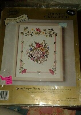Something Special Counted Cross Stitch Kit Spring Bouquet 50701 NEW