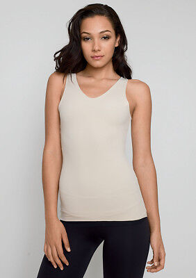 4 Way Cami (Brand New 4 way Tank/ Flipside Firmers  Reversible Camisole Black/Nude  Size L )