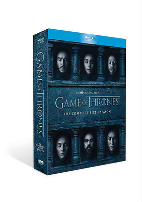 Game Of Thrones The Complete Sixth Season 6 Blu Ray New Sealed Gift Xmas