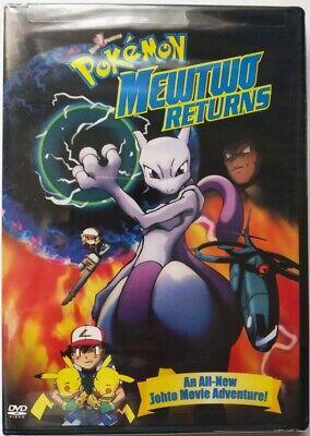 Pokemon: Mewtwo Returns (DVD, 2001) NTSC, Region 1