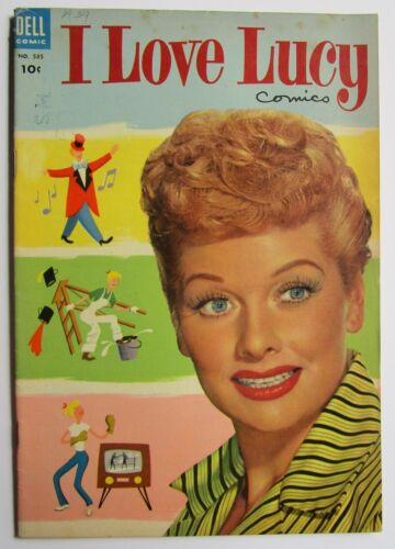 I love Lucy #1 Dell Comic Book 1954 1st issue Lucille Ball photo cover