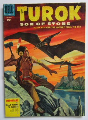 Turok Son Of Stone #656 2nd appearance Dell Comic Book 1955 four color