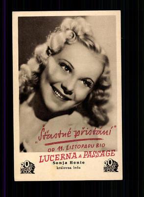 Sonja Henie Postkarte ## BC 133290