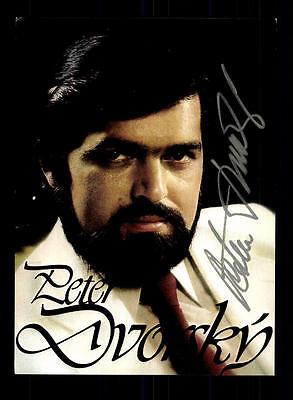 Peter Dvorsky Autogrammkarte Original Signiert ## BC 73050