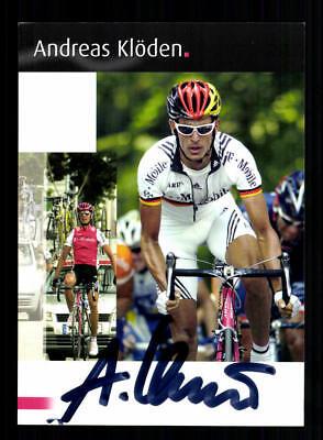 Andreas Klöden Autogrammkarte Original Signiert Radsport+A 181661