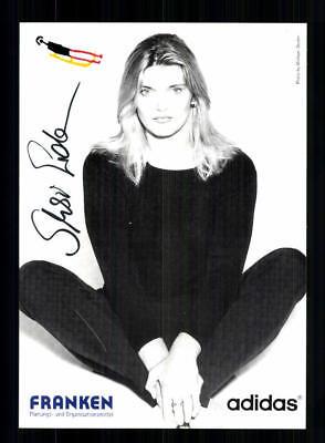 Susi Erdmann Autogrammkarte Original Signiert Rodeln +A 191817
