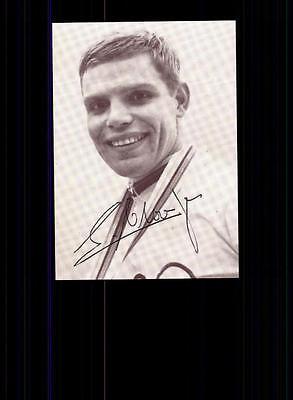 Lothar Claesges Autogrammkarte 60er Jahre Original Signiert Radsport +A 146561