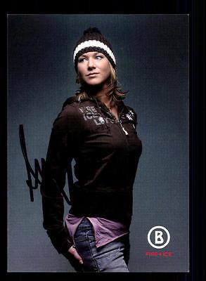Amelie Kober Autogrammkarte Original Signiert Snowboard+ A 134010