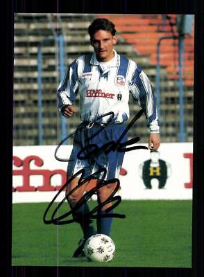 Carsten Klee Autogrammkarte Hansa Rostock 1995-96 2. Satz Original + A199252