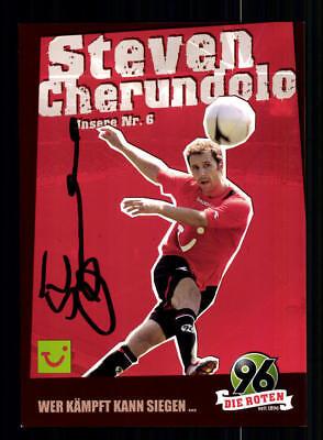 Steven Cherundolo Autogrammkarte Hannover 2006-07 Original Signiert + A 190377