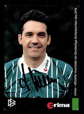 Jürgen Jansen Autogrammkarte DFB Schiedsrichter Original Signiert +A41730
