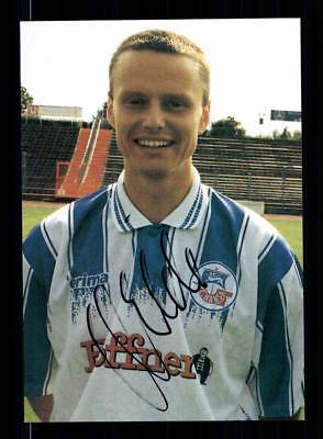 Rocco Milde Autogrammkarte Hansa Rostock 1995-96 1. Satz Original + A 193563