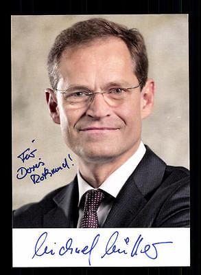 Michael Müller Autogrammkarte Original Signiert ## BC 69211