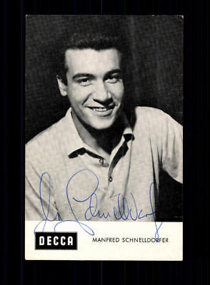 Manfred Schnelldorfer Autogrammkarte Original Signiert Eiskunstlauf+A 188108