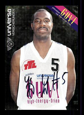 Keith Gray Autogrammkarte Basketball Nationalspieler Original Sign + A 145330