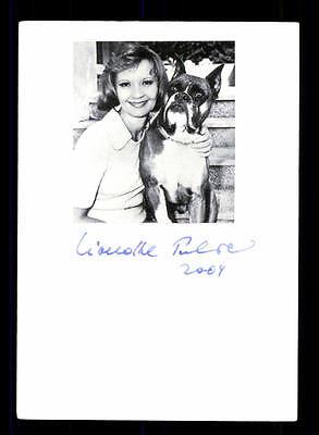 Liselotte Pulver Original Signiert # BC 93507