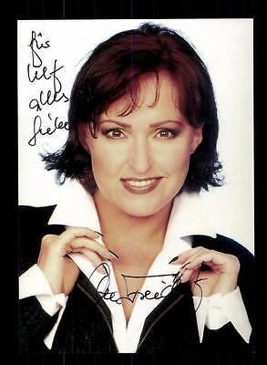 Ute Freudenberg Autogrammkarte Original Signiert ## BC 92211