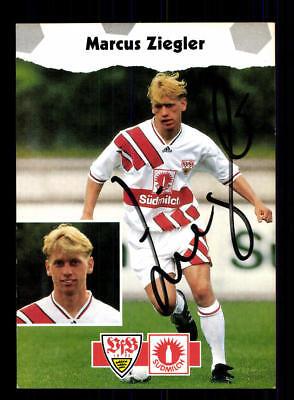 Marcus Ziegler Autogrammkarte VFB Stuttgart 1994-95 Original Signiert+A 174884