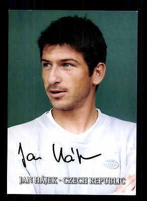 Jan Hajek Autogrammkarte Original Signiert Tennis +A 124438