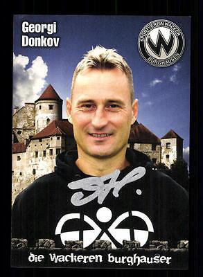 Georgien 12 (Georgi Donkov Autogrammkarte Wacker Burghausen 2011-12 Original  + A 155597)