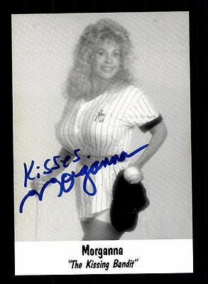 Morgana Autogrammkarte Original Signiert # BC