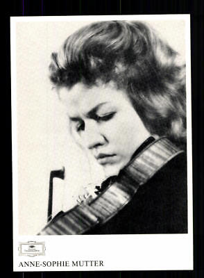 Anne Sophie Mutter Autogrammkarte  ## BC 126102