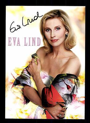 Eva Lind Autogrammkarte Original Signiert ## BC 59457