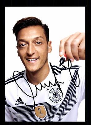Mesut Özil  DFB Autogrammkarte WM 2018 Russland +A 177007 D
