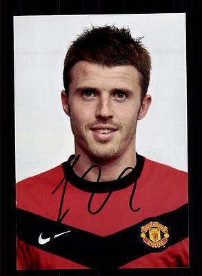 Michael Carrick Manchester United Foto Original Signiert +A 128734